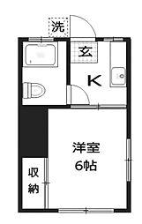 アパートマスヤ[2階]の間取り