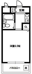 サバーブシティXIII[2階]の間取り