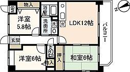 RYOKOビル[5階]の間取り