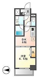 MEIBOU TESERA(メイボーテセラ)[2階]の間取り