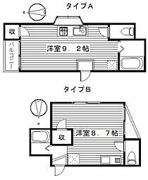 日商ビル[A,B,C号室]の間取り