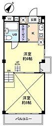 第2アイディール[1階]の間取り