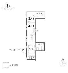 新築 荘[312号室号室]の間取り