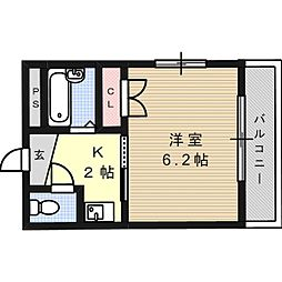 マ・メゾンYC[2階]の間取り