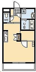 サンライズコート[6階]の間取り