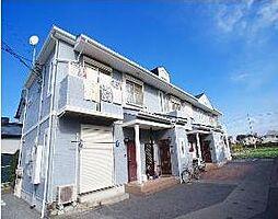 埼玉県越谷市南荻島の賃貸マンションの外観