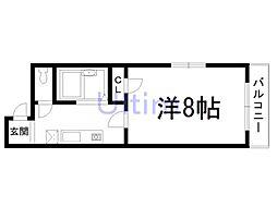エクシ−ドⅢ[2階]の間取り