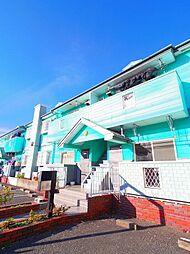 埼玉県新座市石神4丁目の賃貸アパートの外観