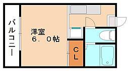 LAアパルトマン[1階]の間取り