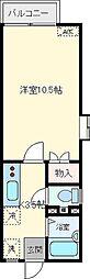 ネオパレス松尾町[102号室]の間取り