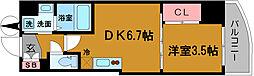 SERENITE堺筋本町SUD[505号室]の間取り