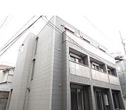 東京都台東区根岸2丁目の賃貸アパートの外観