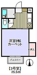 メゾン小萩[2階]の間取り