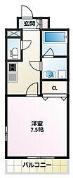 ベルフォート[2階]の間取り