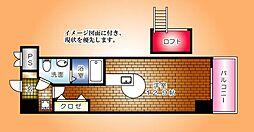 サムティ鶴見[703号室]の間取り