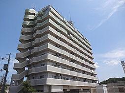 兵庫県三田市大原の賃貸マンションの外観