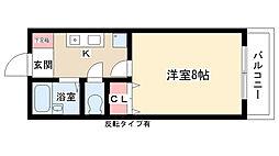 愛知県名古屋市守山区更屋敷4丁目の賃貸マンションの間取り