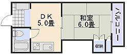 新庄グリーンコーポ[3階]の間取り