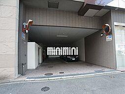 西田ビルの駐車場