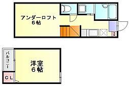 プラウドレガリア井尻ルネッサンス[1階]の間取り