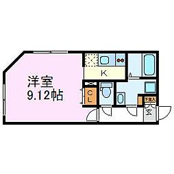 Branche千代田[5階]の間取り