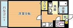 ロイヤルコートM[2階]の間取り