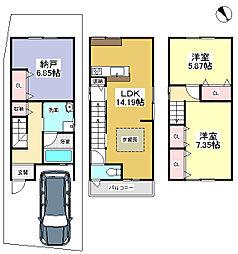 一戸建て(竹田駅から徒歩7分、85.46m²、2,980万円)