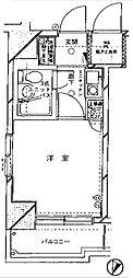 クリオ神奈川新町壱番館[701号室]の間取り