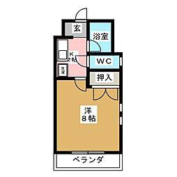フレグランス22[3階]の間取り