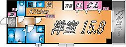 兵庫県神戸市灘区中郷町4の賃貸マンションの間取り