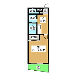 Eパレス23[1階]の間取り