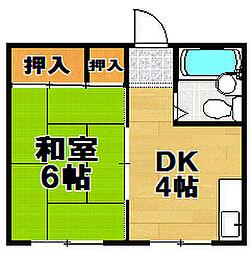 平和マンション[3階]の間取り