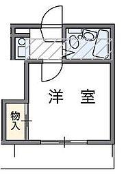 埼玉県川口市柳根町の賃貸アパートの間取り