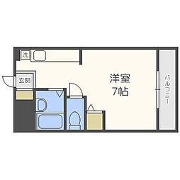 上田コーポ[203号室]の間取り