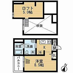 abisko(アビスコ)[2階]の間取り