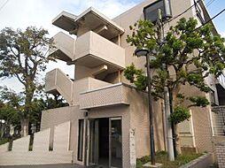 神奈川県茅ヶ崎市浜之郷の賃貸マンションの外観