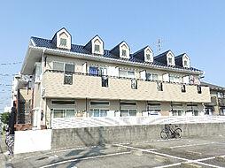 三重県四日市市九の城町の賃貸アパートの外観