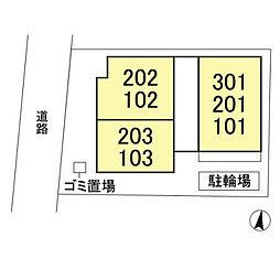 仮称)D-room前原西3丁目[203号室]の外観