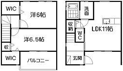 [テラスハウス] 静岡県浜松市南区本郷町 の賃貸【静岡県 / 浜松市南区】の間取り