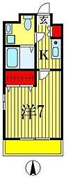 エレンシアK[3階]の間取り