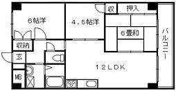第3吉川ビル[1階]の間取り