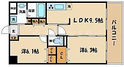 レフレール[3階]の間取り