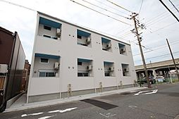 愛知県名古屋市中川区花池町1の賃貸アパートの外観