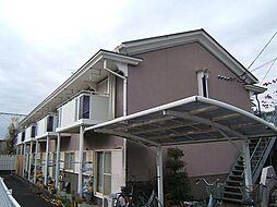 京都府城陽市寺田林ノ口の賃貸アパートの外観