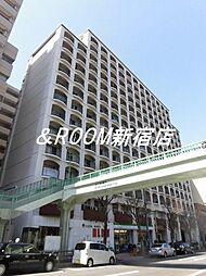 東京都新宿区西新宿4丁目の賃貸マンションの外観