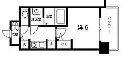 スワンズシティ大阪城南[7階]の間取り