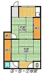 [タウンハウス] 大阪府大阪市淀川区西三国2丁目 の賃貸【/】の間取り