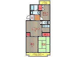 ビューコート習志野台 (0043)[104号室]の間取り