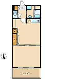 プロヴァンス[3階]の間取り