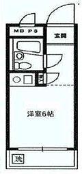 相模台ハウス[1-B号室]の間取り